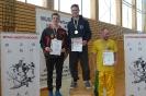 Siegerehrung Thomas Segger (li.) - Wushu-Landesmeisterschaft 2017